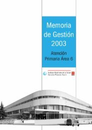 Area 6 · Memoria de Gestión 2003 - Ibanezyplaza.com