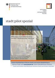 stadt:pilot spezial 02 - Nationale Stadtentwicklungspolitik