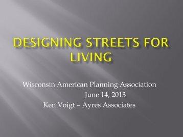 Designing Streets for Living - American Planning Association ...