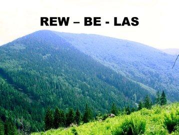 Prezentácia REW-BE-LAS - Lesy SR š.p.