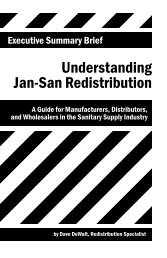 Understanding Jan-San Redistribution - convention - ISSA.com