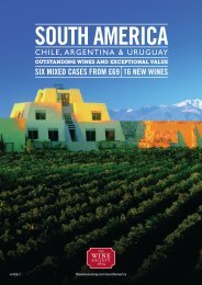 south america - The Wine Society