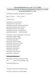 Gemeinderatssitzungsprotokoll (91 KB) - .PDF - Waidhofen an der ...