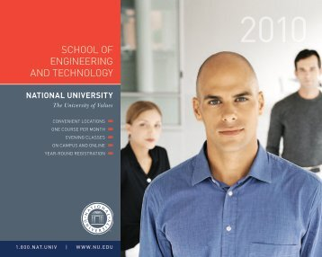 School of Engineering and Technology - National University