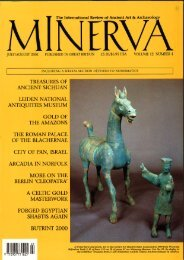 I The International Review of Ancient Art & Archaeology
