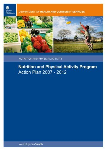 Nutrition and Physical Activity Program - NT Health Digital Library ...