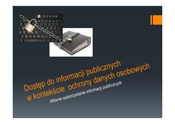 Czy każdy ma prawo dostępu do informacji publicznej?