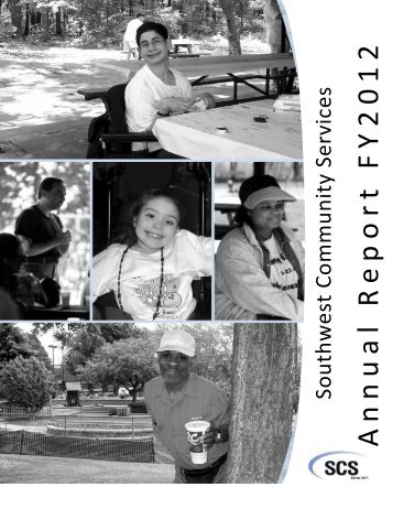 Fiscal Year 2012 Annual Report - Southwest Community Services, Inc.