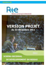 Consulter le schema décennal de développement - CRE
