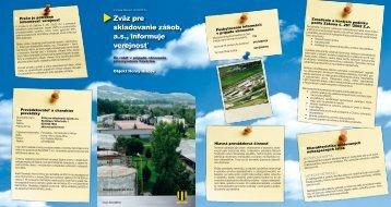 Horný Hričov (pdf, 1.9 MB) - Slovnaft