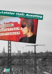 Letzter Halt: Ausstieg - EXIT-Deutschland