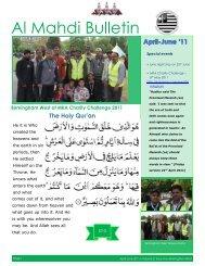 Al Mahdi Bulletin - Majlis Khuddamul Ahmadiyya UK Majlis ...