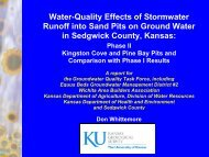 Water-Quality Effects of Stormwater Runoff into Sand Pits on Ground ...