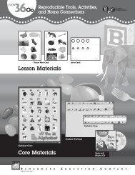 Core Materials Lesson Materials - Benchmark Resources
