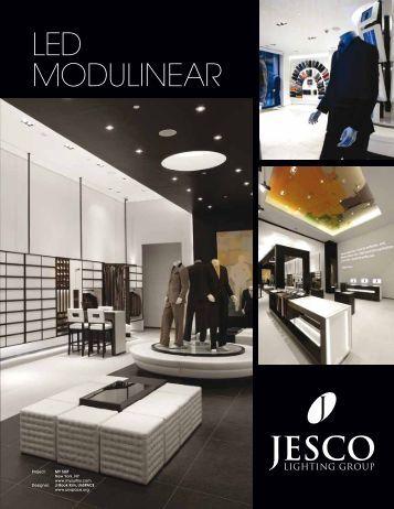 high power led display light • corvi series jesco lighting led modulinear catalog jesco lighting
