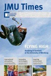 the University of Würzburg - International