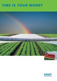 Protective climate barrier Temperature and moisture ... - Agri24