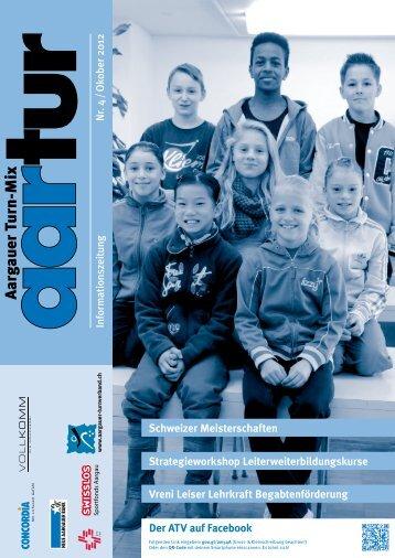 Ausgabe 04_2012 - Aargauer Turnverband