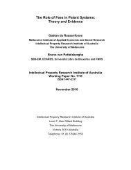 The Role of Fees in Patent Systems: Theory and Evidence