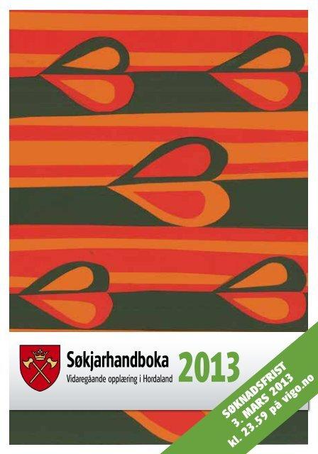 Søkjarhandboka 2013 - Hordaland fylkeskommune