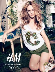 Annual Report 2012 - About H&M
