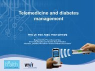 Telemedicine and diabetes management - World of Health IT