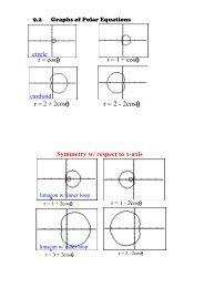 r = 2 2cosθ circle
