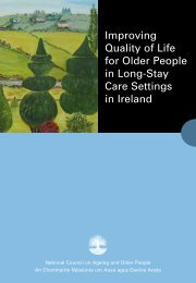 Improving Quality of Life for Older People in Long-Stay Care ...