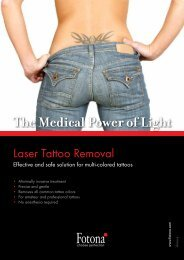 What is Laser Tattoo Removal? - Fotona