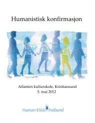 Humanistisk konfirmasjon - Human-Etisk Forbund