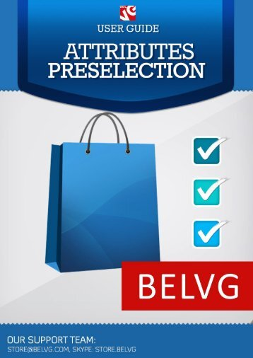 User Guide - BelVG Magento Extensions Store