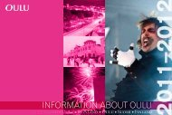 Information about Oulu 2011–2012
