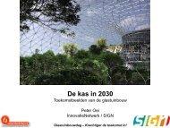 Toekomstbeelden van de glastuinbouw - Energiek2020