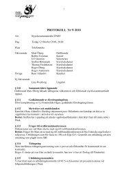 Styrelsemöte 9 - Övre Norra Bilsportsförbundet