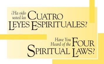 cuatro leyes espirituales? - Campus Crusade for Christ