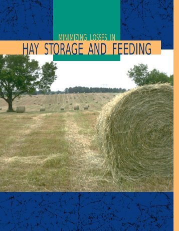 Minimizing Losses in Hay Storage and Feeding - MSUcares