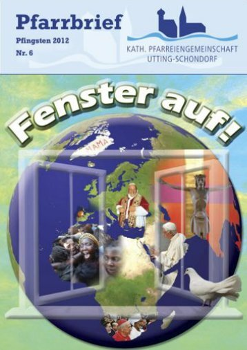 Pfarrbrief Pfingsten 2012 - Pfarreiengemeinschaft Utting-Schondorf