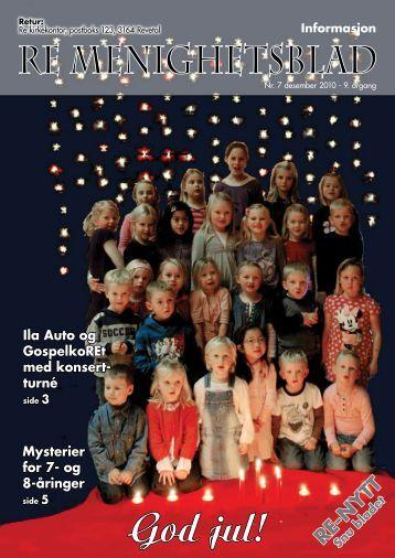 Nr.7 2010 - Re kirkelige fellesråd - Den norske kirke
