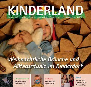 Kinderland 04/2011 - Albert-Schweitzer-Verband