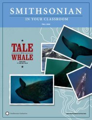 Tale of a Whale (and Why It Can Be Told) - Smithsonian Education
