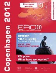 October 10-13, 2012 - EAO