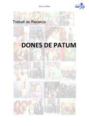 dones de patum - Premis Universitat de Vic als millors treballs de ...