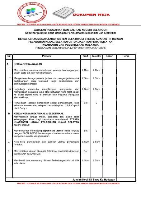 Contoh Carta Organisasi Panitia Bahasa Melayu Rasmi Ru