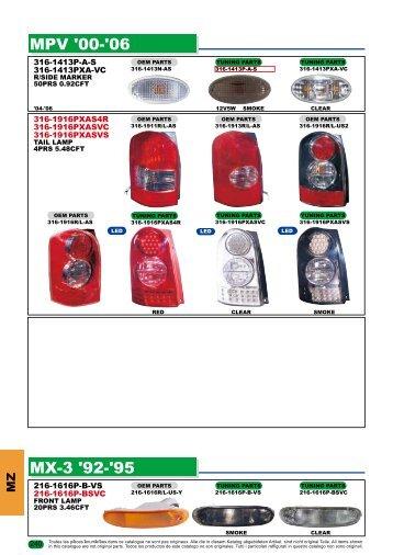 MPV '00-'06 MX-3 '92-'95 - Depo
