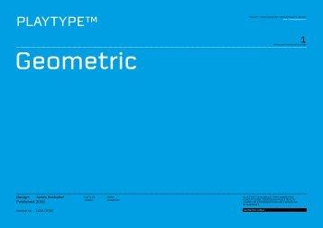 Geometric - Playtype