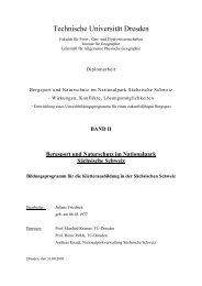 Band II - Sächsische Schweiz Initiative