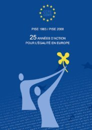 25 années d'actions pour l'égalité en