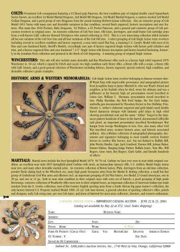 colts - Little Johns Auction Service, Inc.