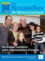 Avril - Ville de Moissy-Cramayel
