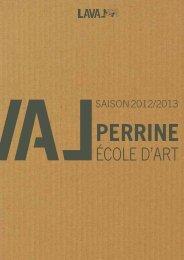 École d'Art de la Perrine : des places encore disponibles ... - Laval